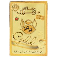 چای باروتی 500 گرمی گلد دوغزال